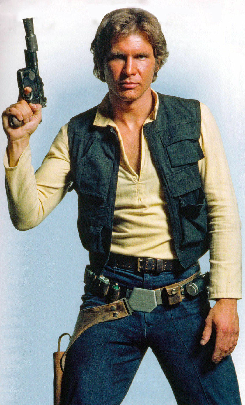 Harry in étoile, star Wars:New Hope
