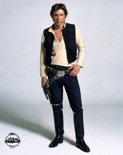 Harrison Ford wallpaper possibly containing a rifleman and an atlantic herring called Harry in Star Wars:New Hope