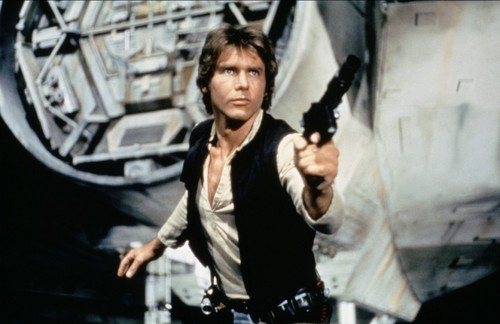 Harrison Ford achtergrond called Harry in ster Wars:New Hope