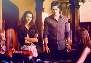 Hayley and Damon