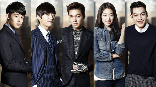Korean Dramas پیپر وال containing a business suit entitled Heirs