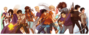 heroes of olympus wallpaper por Viria