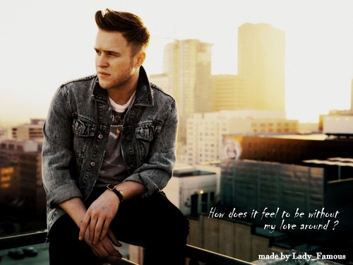 Olly Murs wallpaper with a well dressed person entitled How does it feel?