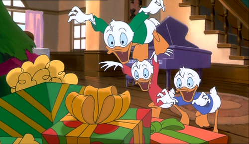 mickeys once upon a christmas wallpaper called huey dewey and louie - Mickeys Once Upon A Christmas Vhs