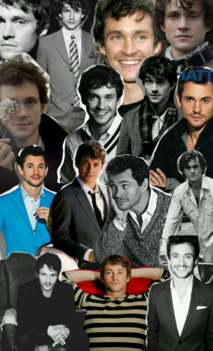 Hugh Dancy hình nền with a business suit, a dress suit, and a suit titled Hugh Dancy , Collage