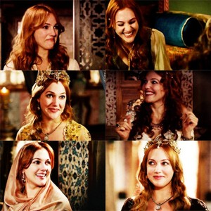 Hurrem is laughing...