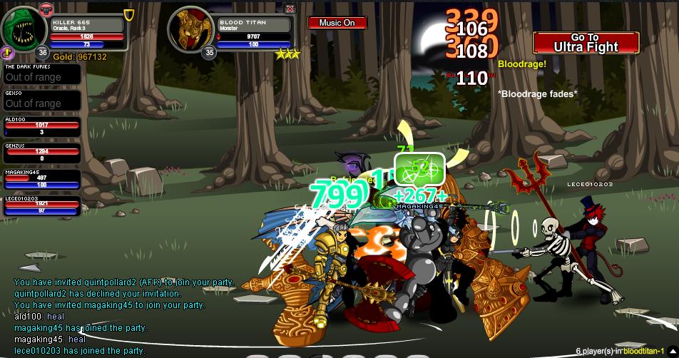 I killed the blood titan - aqworlds Photo (36006557) - Fanpop