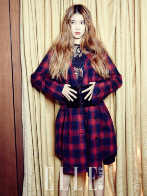 IU - Elle Magazine November Issue '13