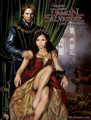 Ian Somerhalder and Nina Dobrev as Damon and Elena in Damon Salvatore: Lord of the Manor - ian-somerhalder-and-nina-dobrev photo