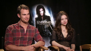 India Eisley and Theo James
