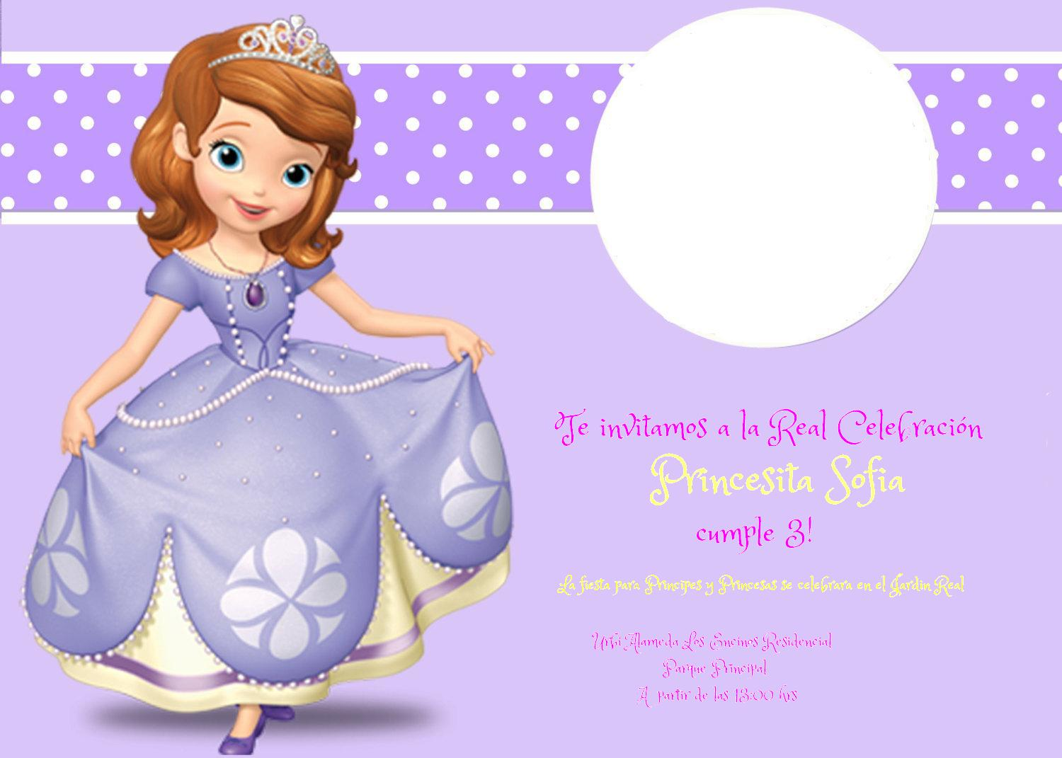 Sofia,The First.Once Upon a Princess images Invitacion HD wallpaper and background photos (36071873)