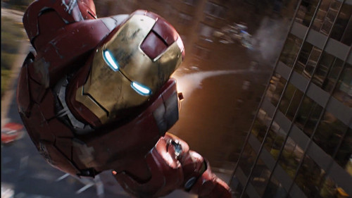 Iron Man wallpaper entitled Iron Man in The Avengers
