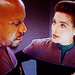 Jadzia and Ben Sisko