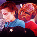 Jadzia and Worf - jadzia-dax icon