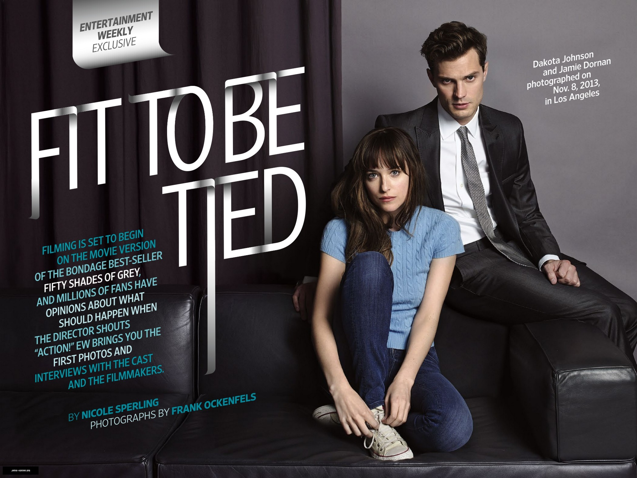 Jamie dornan fifty shades of grey entertainment weekly for Fifty shade of grey