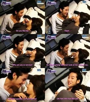 Jang Geun Suk And Park Shin Hye Moments