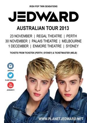 Jedward Tour Australia