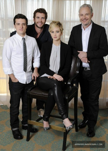 Portrait Photo shoot from the press junket!
