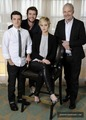 Portrait Photo shoot from the press junket! - jennifer-lawrence-and-josh-hutcherson photo