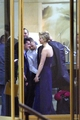 Josh Hutcherson and Jennifer Lawrence leaving Madrid - jennifer-lawrence-and-josh-hutcherson photo