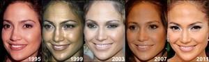 Jennifer Lopez Through the Years