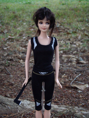 Johanna Custom barbie Doll made por morgan May @ www.stardustdolls.com