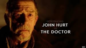 John Hurt is the doctor