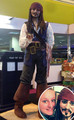 Life-size cake of Johnny Depp! - johnny-depp photo