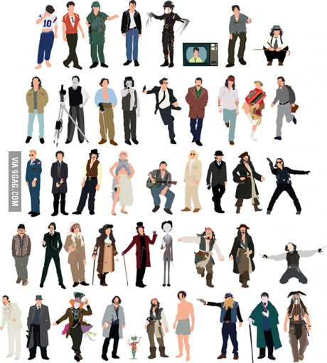 Johnny's characters