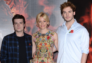 """""""The Hunger Games: Catching Fire"""" - 伦敦 Photocall"""