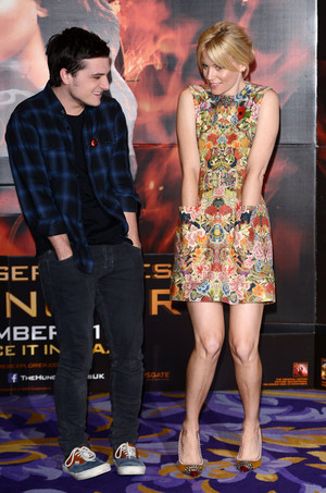 """""""The Hunger Games: Catching Fire"""" - लंडन Photocall"""