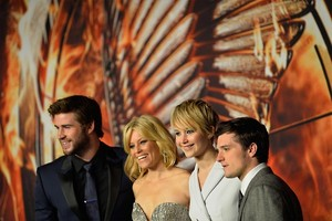 The Hunger Game: Catching feu Berlin Premiere