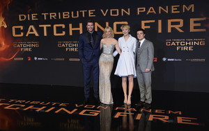 The Hunger Game: Catching brand Berlin Premiere