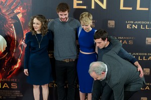 The Hunger Games: Catching fogo Madrid - Photocall