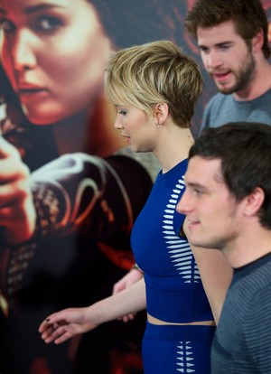 The Hunger Games: Catching apoy Madrid - Photocall
