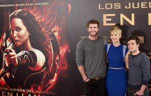 The Hunger Games: Catching ngọn lửa, chữa cháy Madrid - Photocall