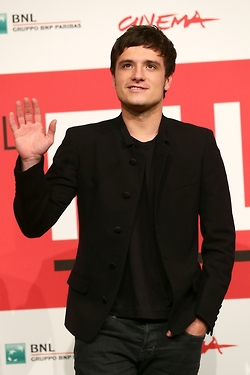 Hunger Games Catching fogo Rome photocall