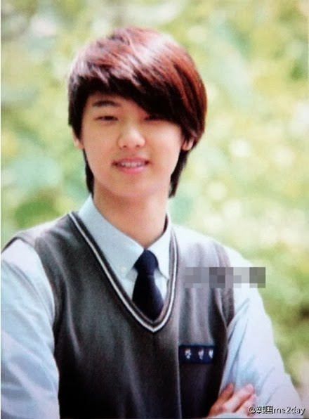 Minhyuk's high school foto