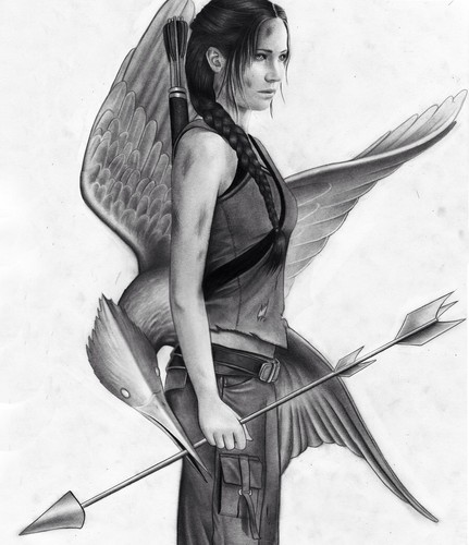 Katniss Everdeen wallpaper titled Katniss Everdeen ☜