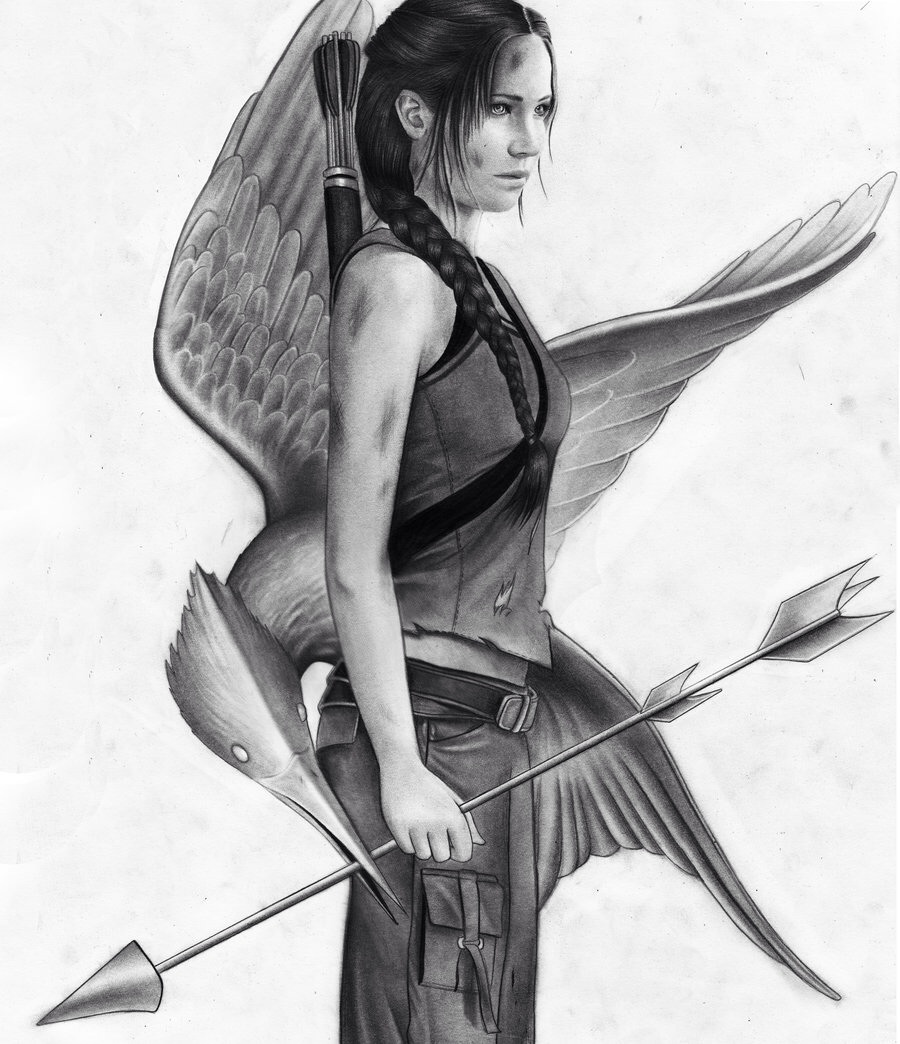 Katniss Everdeen ☜