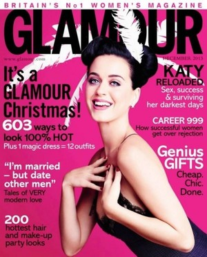 Katy glamour cover