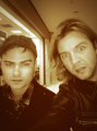 Dave  & Keith keeping it real on the hunt for food - keith-harkin photo