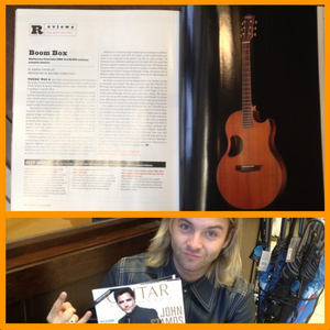 McPherson Guitars articulo in this month's guitarra magazine