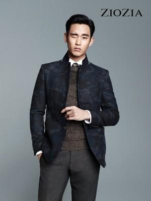 Kim Soo Hyun for 'ZIOZIA'
