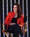 Kristen Stewart red leather jacket - I want it! - kristen-stewart photo