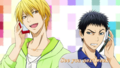 Season 1 episode 3 ~End card~ - kuroko-no-basuke photo