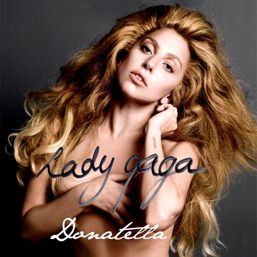Lady Gaga wallpaper with a portrait titled Lady Gaga - Donatella
