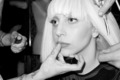 Lady Gaga in her dressing room - lady-gaga photo