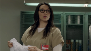 Laura Prepon in jeruk, orange is the new Black