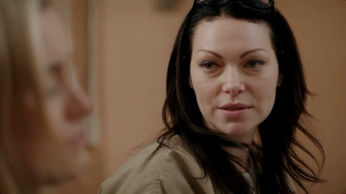Laura Prepon wallpaper with a portrait entitled Laura Prepon in Orange is the new Black